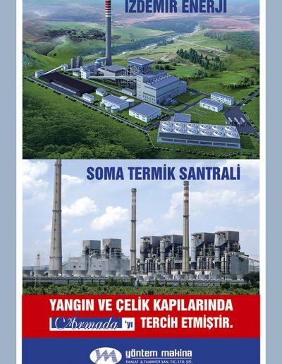 İzdemir Enerji & Soma Termik Santrali